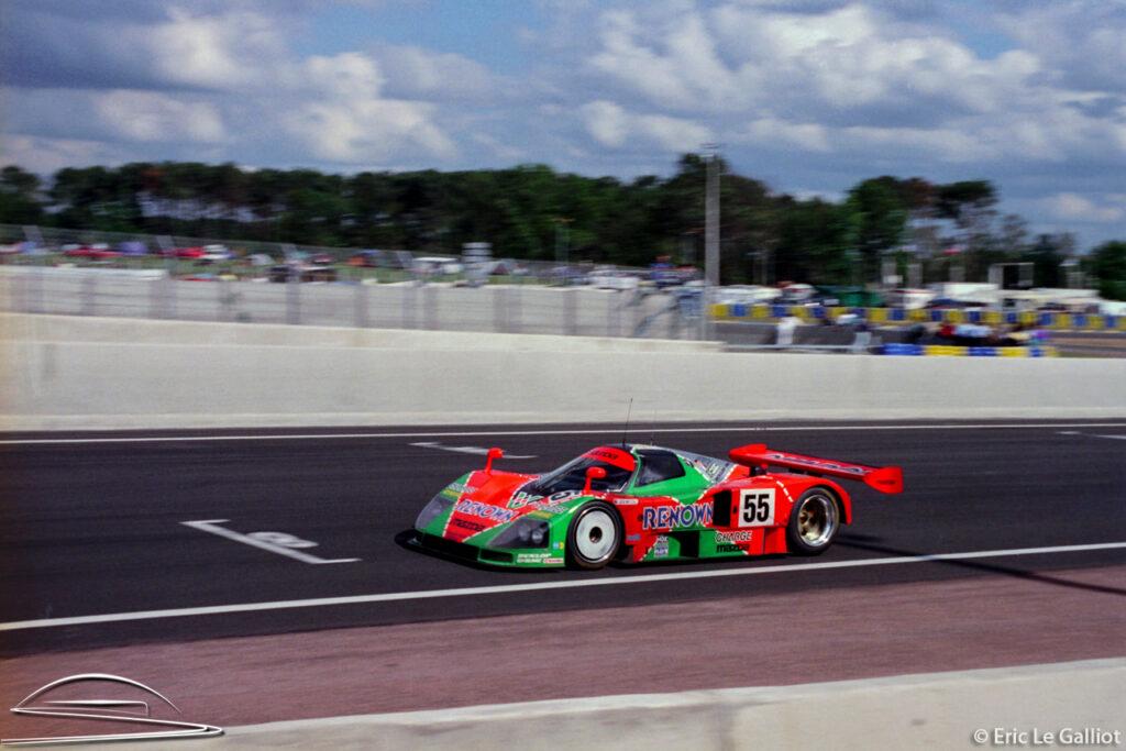 La Mazda 787B victorieuse en 1991